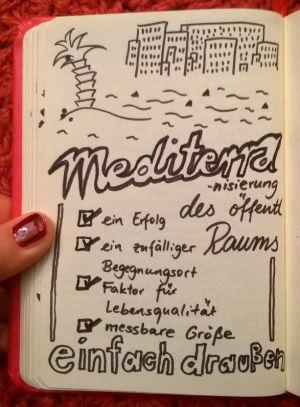 Fachtag Skizzenbuch Mediterranisierung